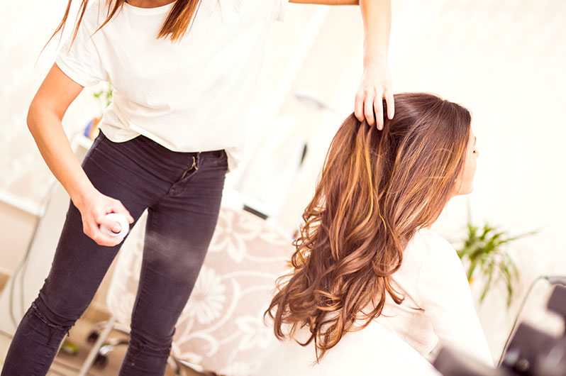 Blueberry Hair Salon Hair Styling